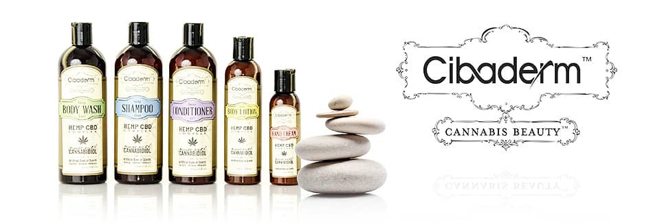 Cibaderm CBD Bath Products