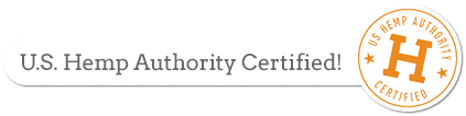 U.S. Hemp Authority Certified!