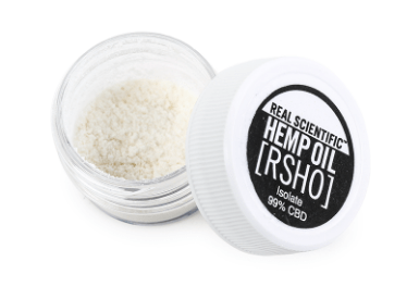 We carry RSHO 1g CBD isolate containers!