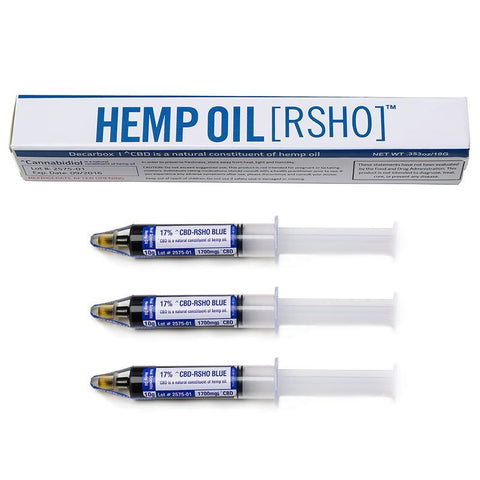 Real Scientific Hemp Oil™ (RSHO) 20% CBD 10g Blue Label Tube 3 Pack