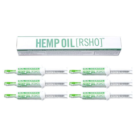 Real Scientific Hemp Oil™ (RSHO) 10% CBD 15g Green Label Tube 6 Pack