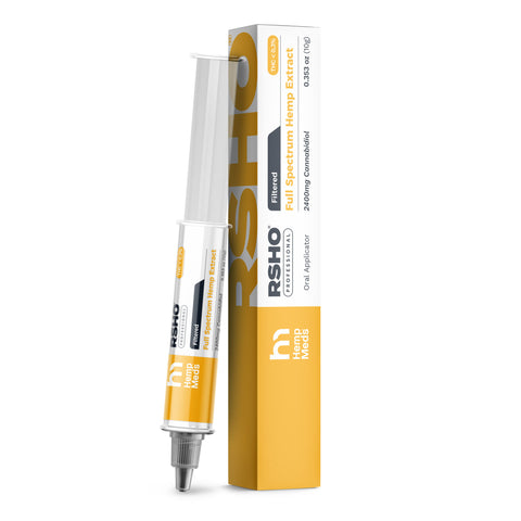 Real Scientific Hemp Oil™ (RSHO) 24% CBD (1) 3g/10g Gold Filtered Tube
