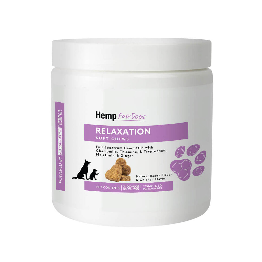 Hemp for Dogs - Relaxation Soft Chews