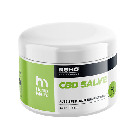RSHO® 1.3OZ CBD SALVE (500MG CBD)