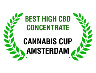 Best High CBD Concentrate - Cannabis Cup Amsterdam