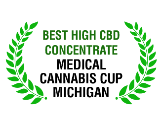 Best High CBD Concentrate - Medical Cannabis Cup Michigan