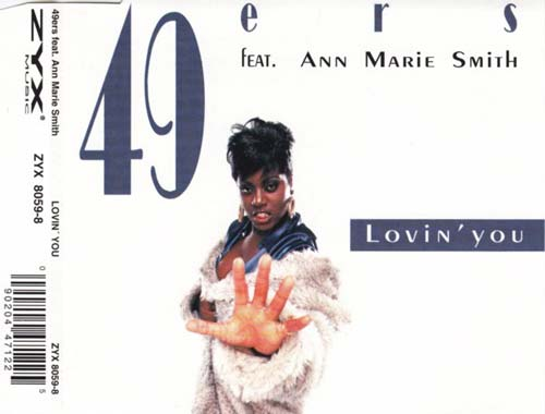 49ers Feat. Ann Marie Smith ‎– Lovin' You (CD Maxi Single usado) (VG+) box 1