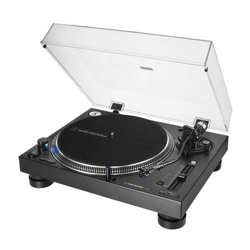 Audio-Technica AT-LP140XP Tornamesa para DJ Profesional (Negra)