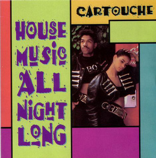 Cartouche ‎– House Music All Night Long (CD Album usado) (VG+) box 1