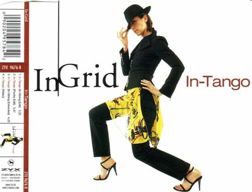 In-Grid ‎– In-Tango (CD Maxi Single) usado (VG )