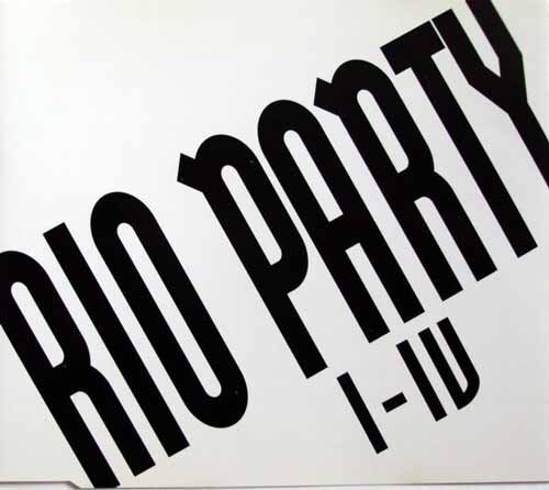 Rio Party ‎– Rio Party I - IV (CD Maxi Single) usado (vg+) box 1
