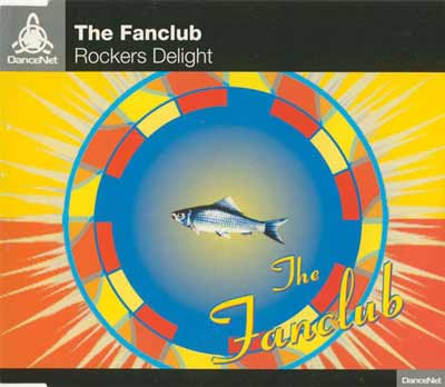 The Fanclub ‎– Rockers Delight (CD Maxi Single) usado (VG+) maleta