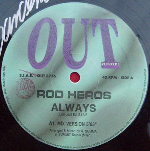 Rod Heros ‎– Always
