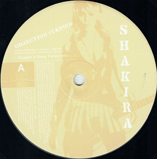 Shakira ‎– Objection (Tango) Remixes By Eric Kupper