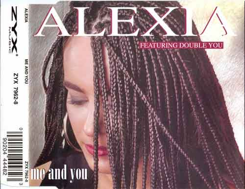 Alexia Featuring Double You ‎– Me And You (CD Maxi Single) usado (VG+) box 10