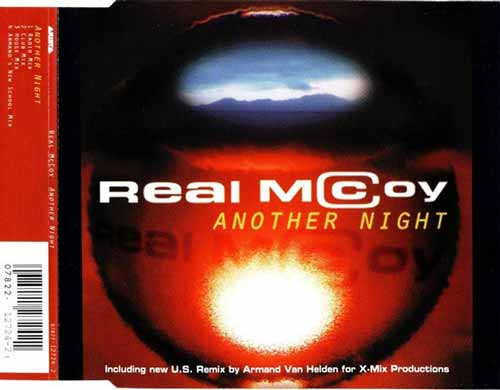 Real McCoy ‎– Another Night (CD Maxi Single) usado (VG+) maleta