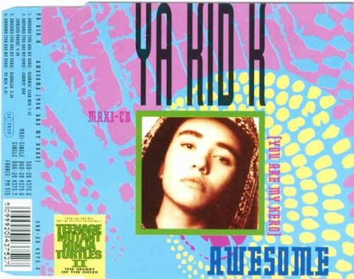 Ya Kid K ‎– Awesome (You Are My Hero) (CD Maxi Single) usado (VG+) box 3