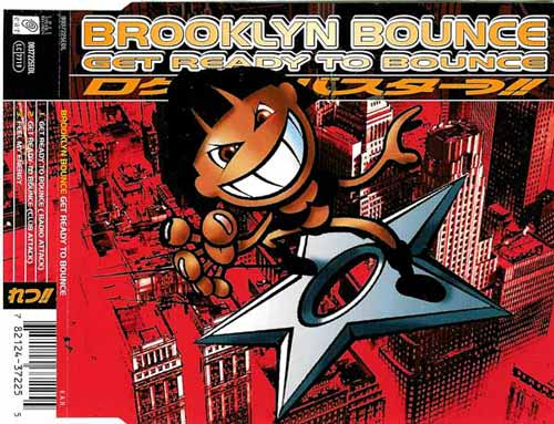 Brooklyn Bounce ‎– Get Ready To Bounce (CD Maxi Single) usado (VG+) maleta