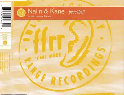 Nalin & Kane ‎– Beachball (CD Maxi Single) usado (VG+) box 11