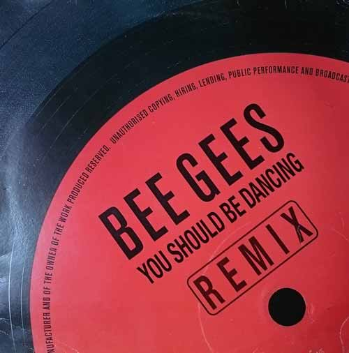 Bee Gees ‎– You Should Be Dancing (Remix) (usado) (VG )