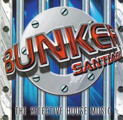 Bunker Santiago - The Selective House Music (CD Mixed) usado (VG+) box 7