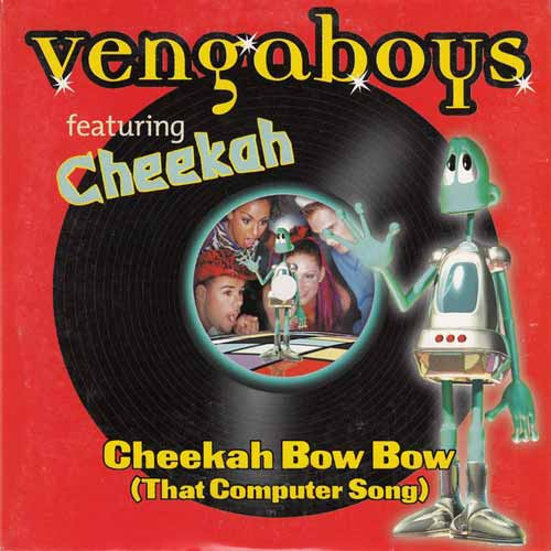 Vengaboys ‎– Cheekah Bow Bow (That Computer Song) (CD Maxi Single) usado (VG ) box 3