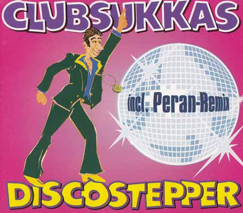 Clubsukkas ‎– Discostepper (CD Maxi Single) usado (VG ) sin caja box 5