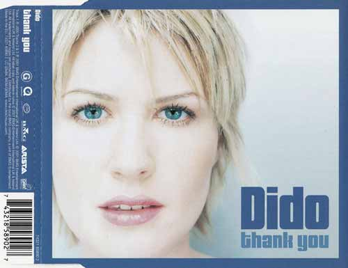 Dido ‎– Thank You (CD Maxi Single) usado (VG+) box 9