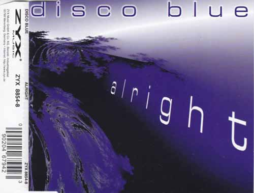 Disco Blue ‎– Alright (CD Maxi Single) usado (VG )
