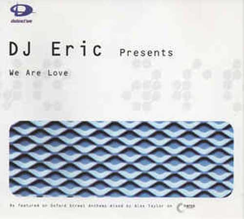 DJ Eric ‎– We Are Love (CD Maxi Single) usado (VG+) box 1