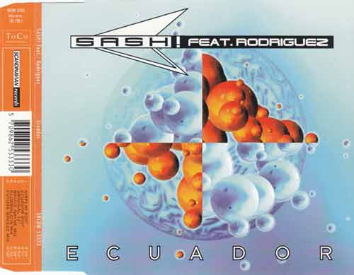 Sash! Feat. Rodriguez ‎– Ecuador (CD Maxi Single) usado (VG+) box 10
