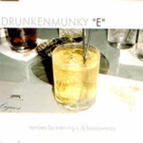 Drunkenmunky ‎– E (CD Maxi Single) usado (VG+) box 10