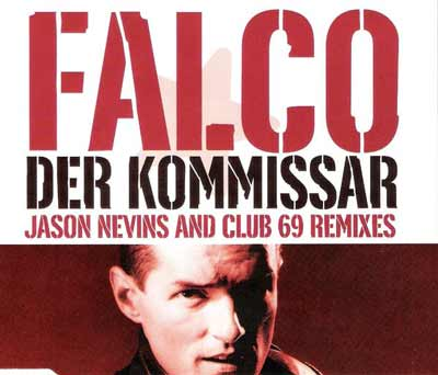 Falco ‎– Der Kommissar (Jason Nevins And Club 69 Remixes) (CD Maxi Single) usado (VG+) maleta 2