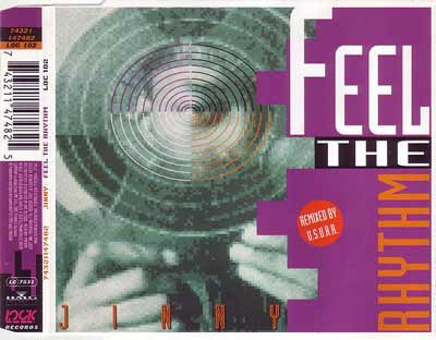 Jinny ‎– Feel The Rhythm (CD Single) usado (VG+) box 11
