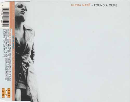 Ultra Naté ‎– Found A Cure (CD Maxi Single) usado (VG+) box 3
