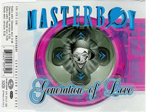 Masterboy ‎– Generation Of Love (CD Maxi Single) usado (VG+) box 3