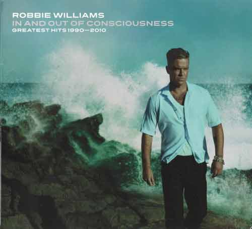 Robbie Williams ‎– In And Out Of Consciousness - Greatest Hits 1990 - 2010 (CD Compilacion) usado (VG+) box 8