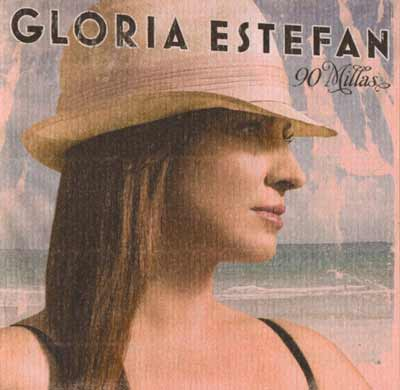 Gloria Estefan ‎– 90 Millas (CD Album) usado (VG+) maleta 2