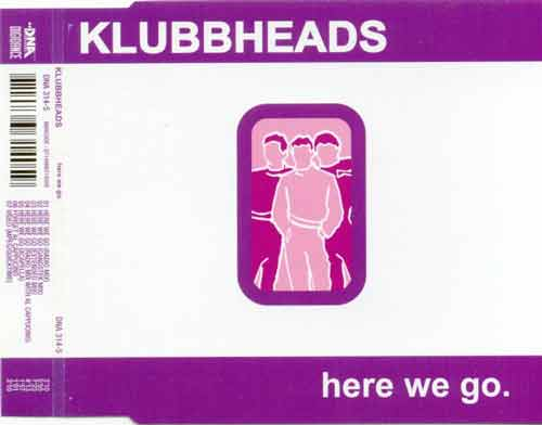 Klubbheads ‎– Here We Go (CD Maxi Single) usado (VG+) box 10