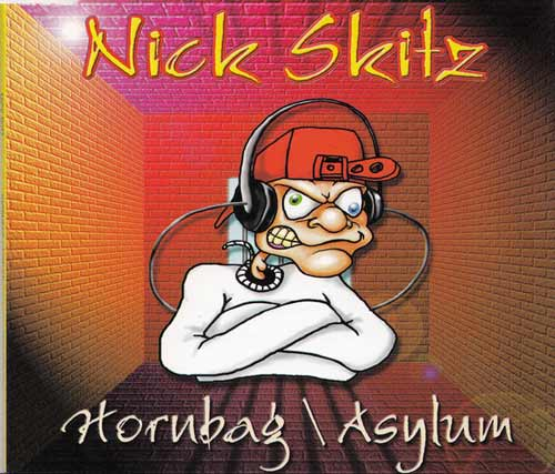Nick Skitz ‎– Hornbag / Asylum (CD Maxi Single) usado (VG+) box 3