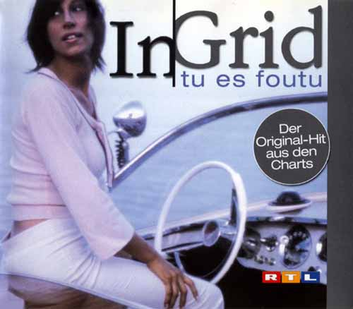 In-Grid ‎– Tu Es Foutu (CD Maxi Single) usado (VG ) box 2