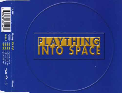Plaything ‎– Into Space (CD Maxi Single) usado (VG+) box 10