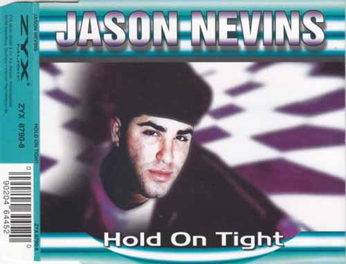 Jason Nevins ‎– Hold On Tight (CD Maxi Single) usado (VG+) box 1