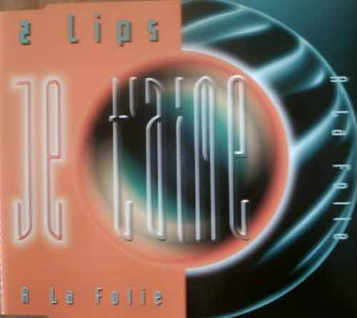 2 Lips ‎– Je T'Aime (A La Folie) (CD Maxi Single) usado (VG+) box 1