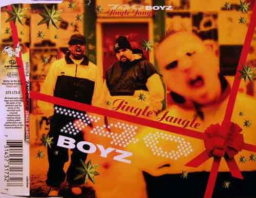 740 Boyz ‎– Jingle Jangle (CD Maxi Single) usado (VG+) maleta
