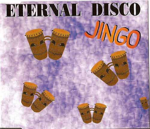 Eternal Disco ‎– Jingo (CD Maxi Single) usado (VG+) box 7