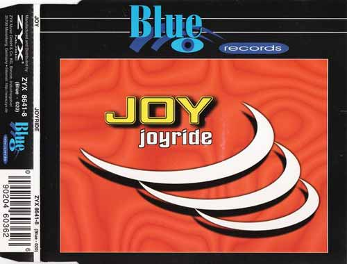 Joy ‎– Joyride (CD Maxi Single) usado (VG+) box 9
