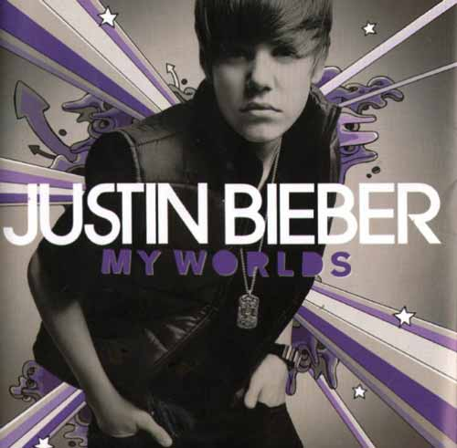 Justin Bieber ‎– My Worlds (CD Album) usado (VG+) box 11