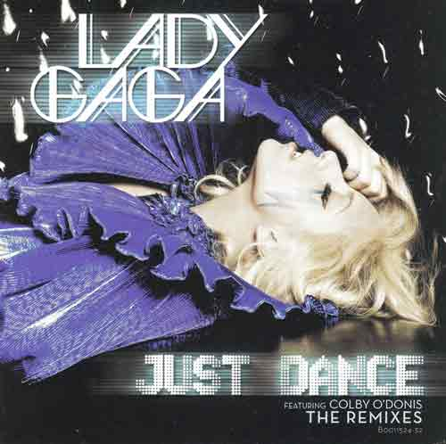 Lady Gaga Featuring Colby O'Donis ‎– Just Dance (The Remixes) (CD Maxi Single) usado (VG+) box 4