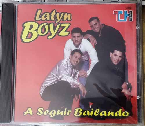 Latyn Boyz ‎– A Seguir Bailando (CD Album) new box 2